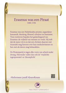 Perkament Erasmus
