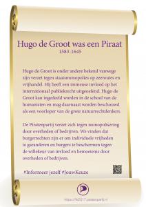 Perkament Hugo Groot